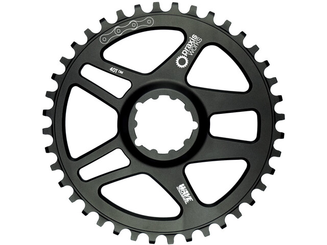 Praxis Works Road Wave Tech Kettingblad 1-Speed 3-bouts Direct Mount